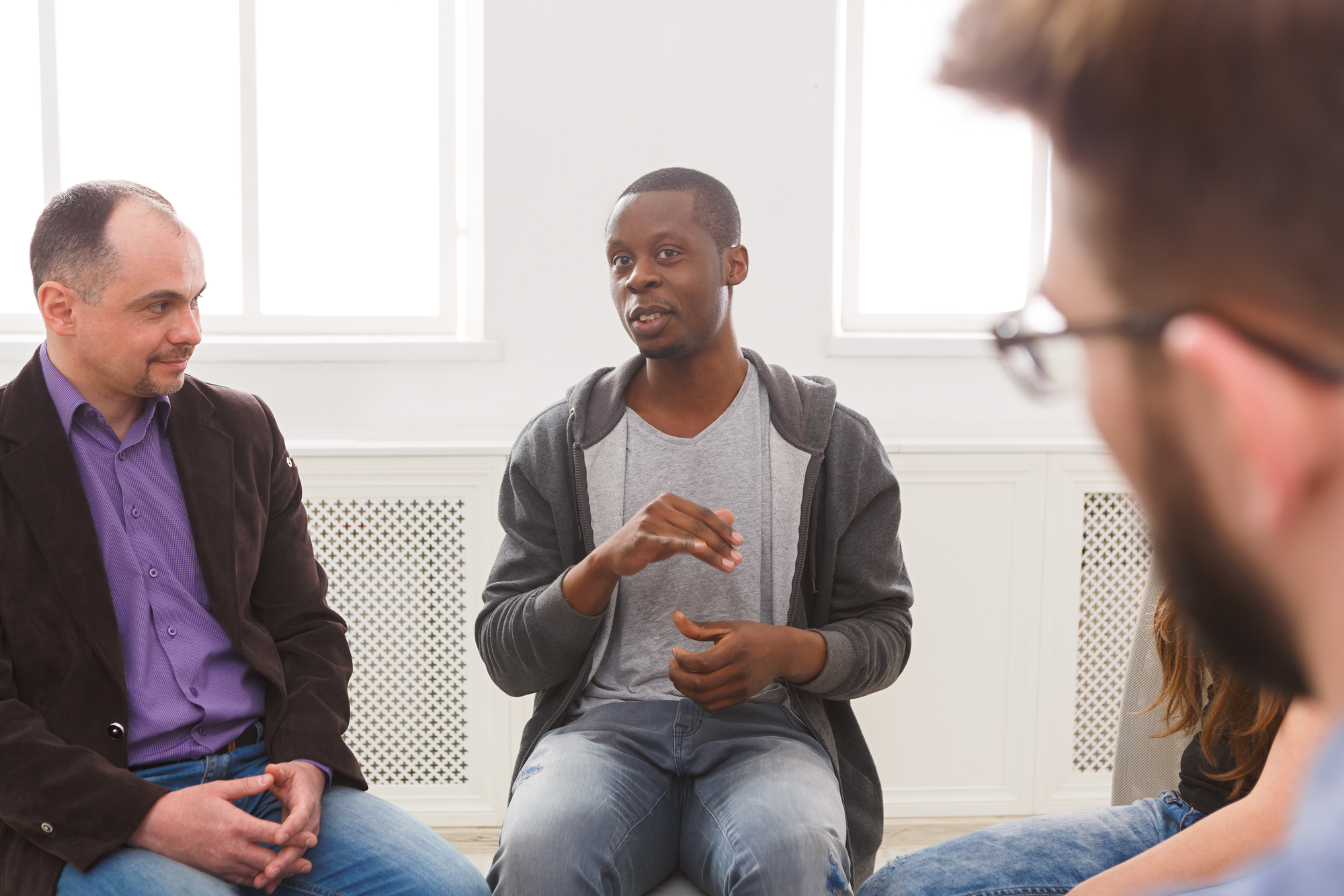 Men's Group: Navigating the Complexities