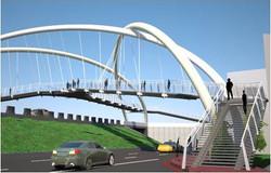 新北市中和人行陸橋