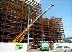 雍和建設台北園區鋼結構工程