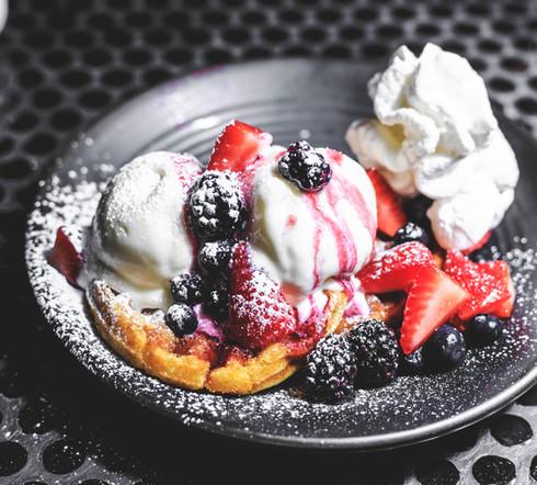Vegan Waffles (v)