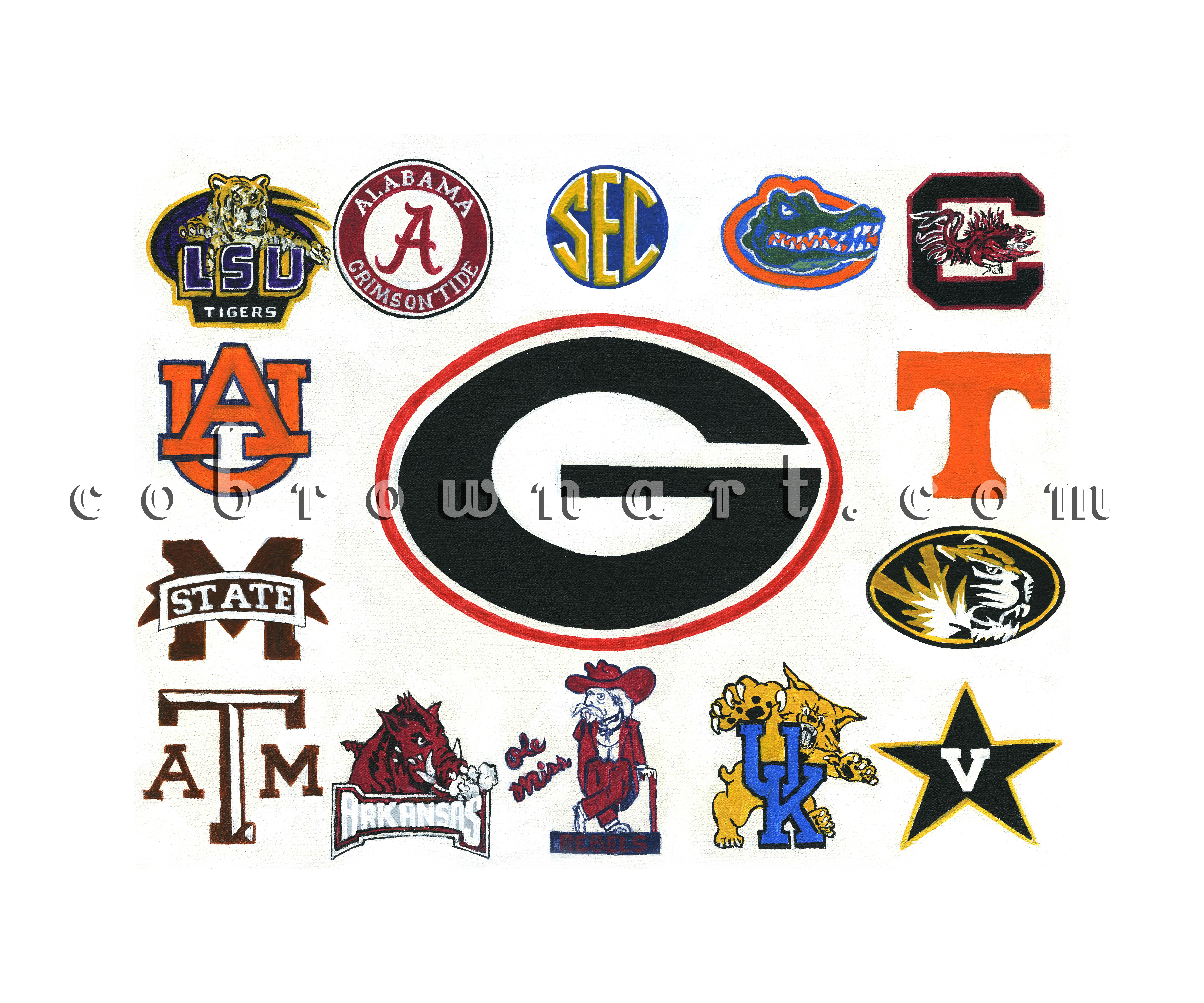 SEC Logo's