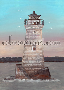 History of Cockspur Lighthouse