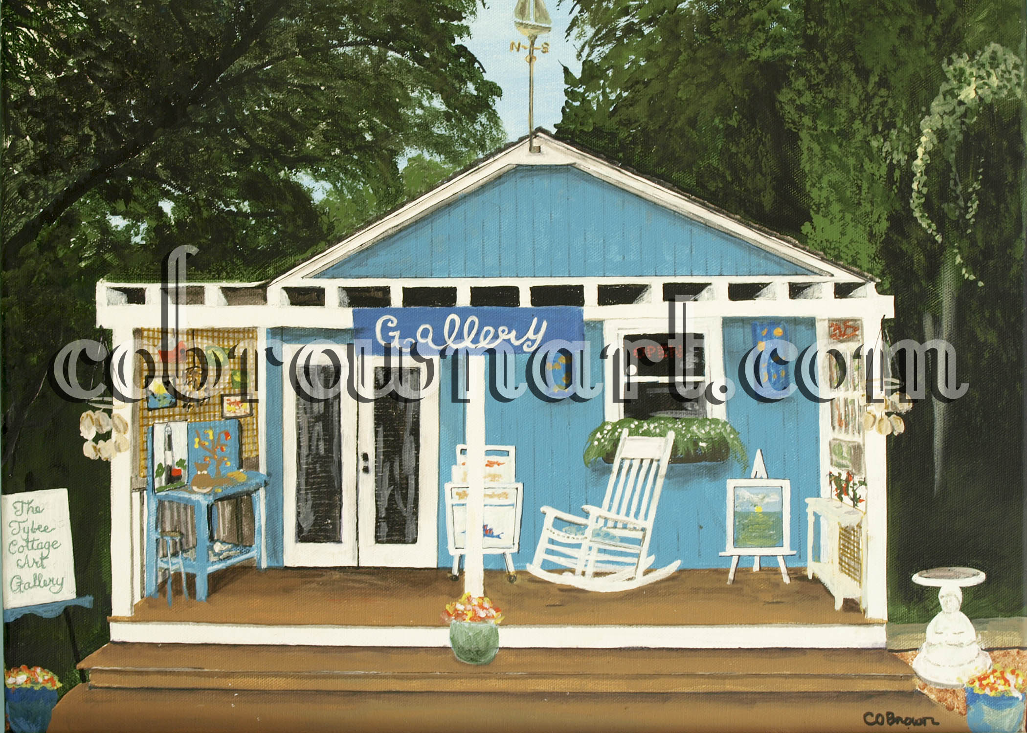 Tybee Cottage Art Gallery