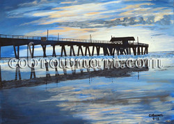 Reflections of Tybee Pier