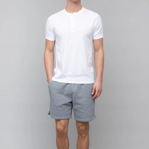 White S/S Henley