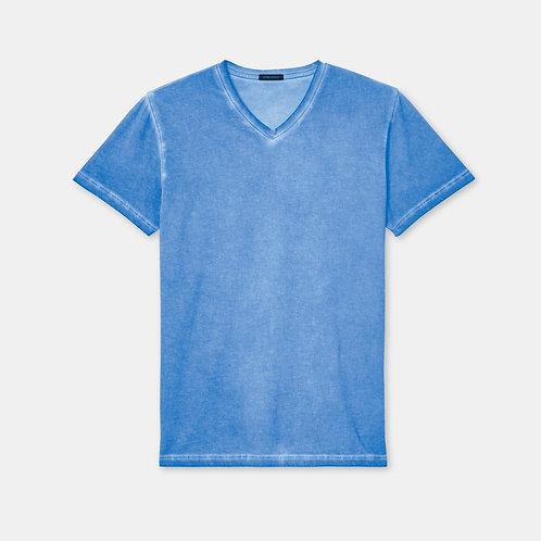 Blue V-Neck