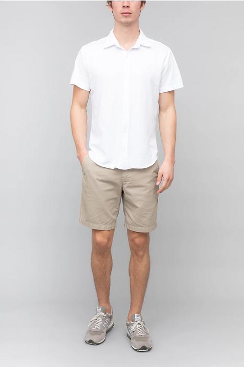 White S/S Supima Easy Jersey