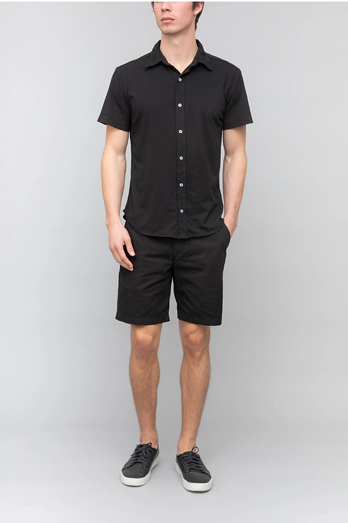 Black S/S Easy Jersey Shirt