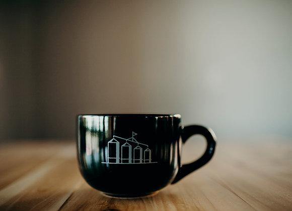 4SILOS Latte Mug with saucer plate