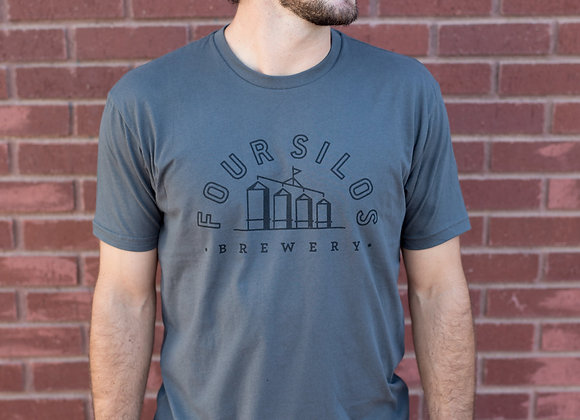 Four Silos Brewery - Jersey Unisex - Gray
