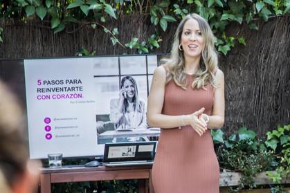 Reinventarse con corazón con Cristina Núñez