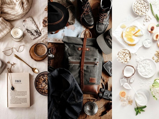 Easy Flat Lay Photography for Your Business