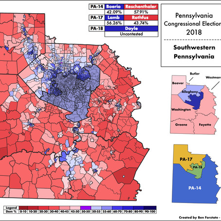 2018 US Congressional Elections in SWPA and Allegheny