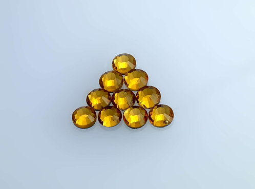 Hot Craft Hobby Crystals - Yellow Topaz