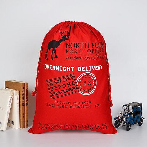 Christmas Gift Sack - Red