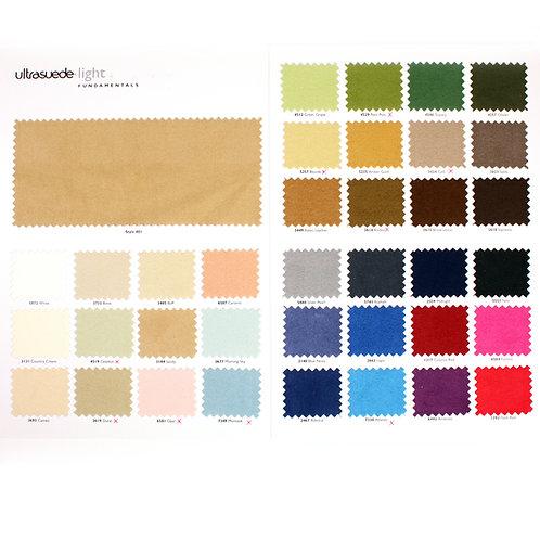 Ultrasuede® Light Color Chart