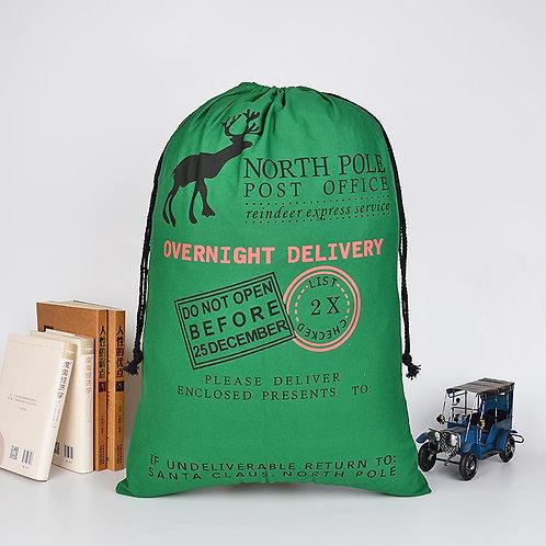 Christmas Gift Sack - Green