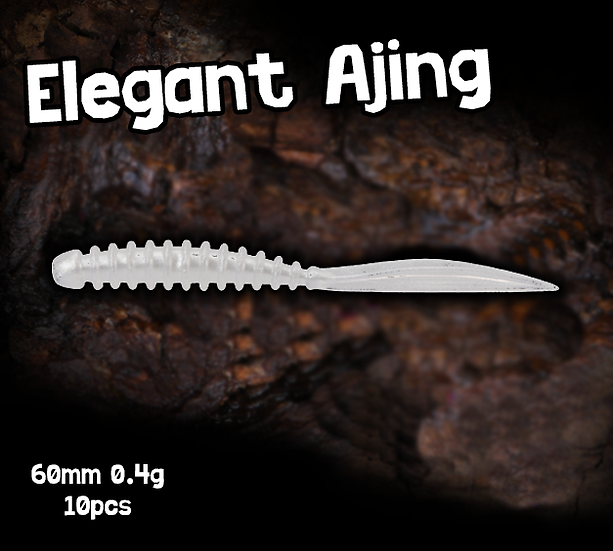 TSU Elegant Ajing Worm 60mm 0.4g