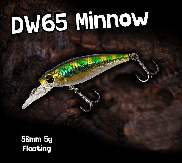 TSU DW65 Floating Minnow 58mm 5g