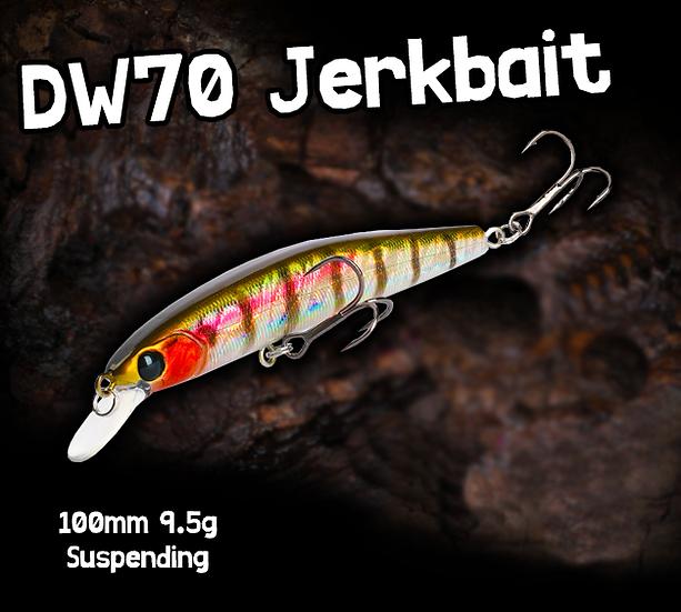 TSU DW70 Suspending Minnow 100mm 9.5g