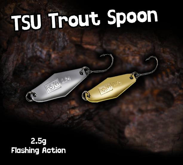 TSU Trout Spoon 2.5g