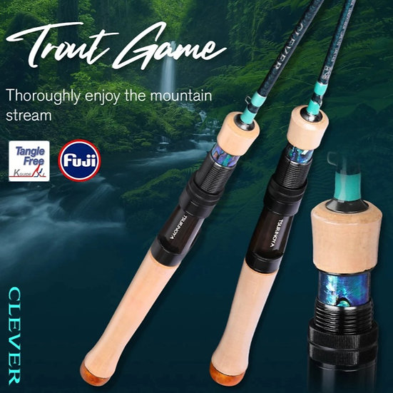 Tsurinoya Clever Trout Game UL Casting Rod