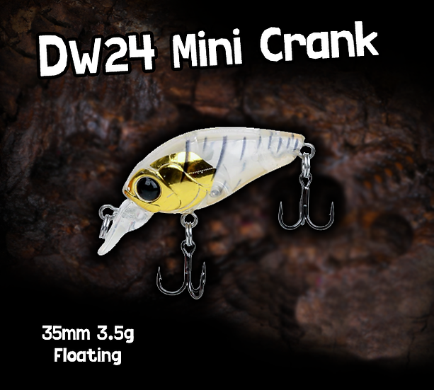 TSU DW24 Mini Cranks 35mm 3.5g
