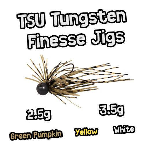 TSU Tungsten Finesse Jigs