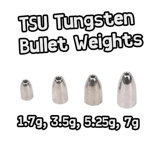 TSU Tungsten Bullet Weights