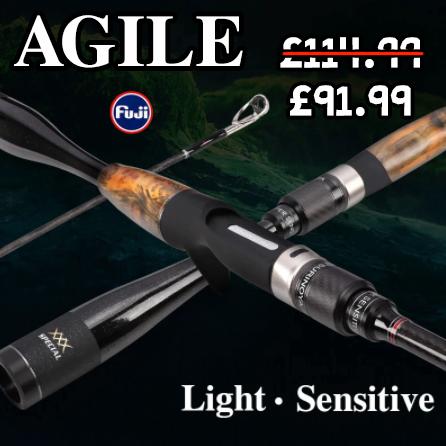 *SALE* Tsurinoya Agile Medium Light Casting Rod
