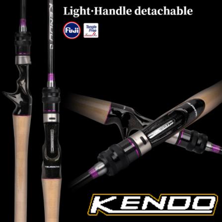 Tsurinoya Kendo Spinning Rod