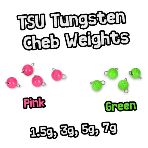 TSU Tungsten Cheb Weights