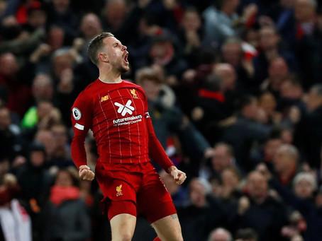 Henderson, o capitão da tão sonhada Premier League do Liverpool