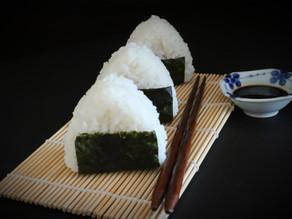 Onigiri der japanische Snack