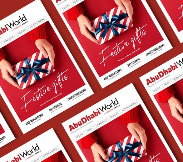 Abu Dhabi World MagazineCover