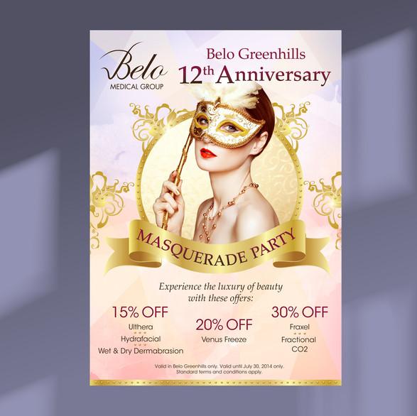 Belo Promotional Poster