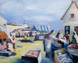 Scene de marche breton
