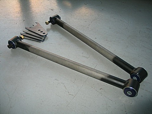 COMMODORE TUBULAR LOWER TRAILING ARMS (with diff bracketry)