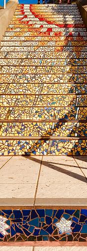 16th Avenue Tiled Steps, San Francisco, USA