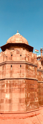 Red Fort in Delhi, India