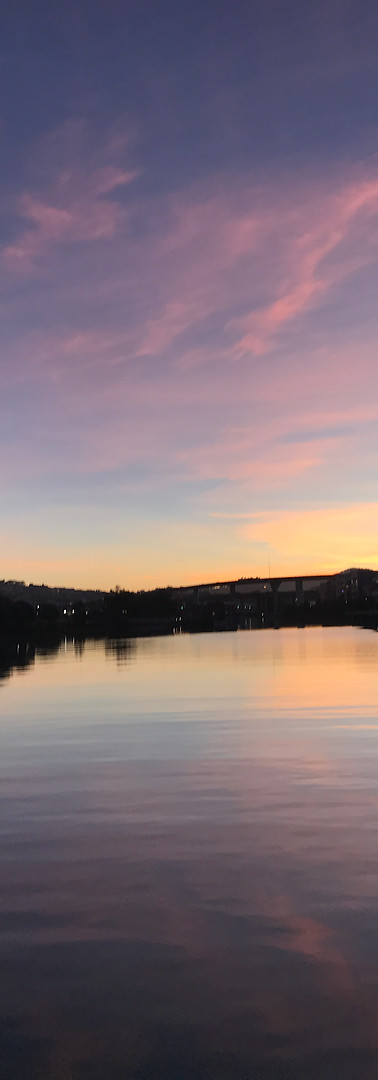 Sunset in San Francisco, USA