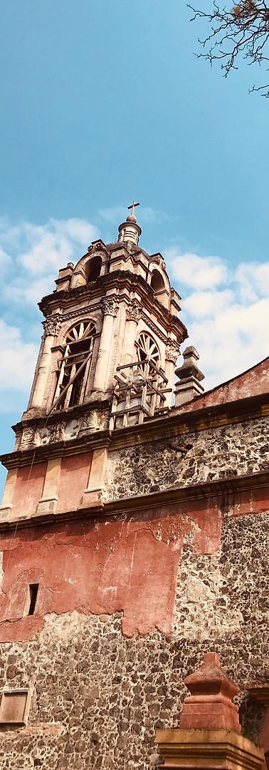 Parroquia de San Jacinto in San Angel, Mexico