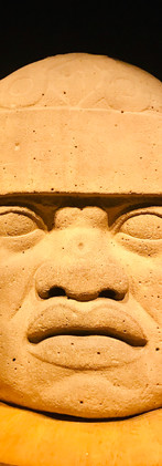Olmec sculpture at the Museum of Anthropology, Mexico City, Mexico