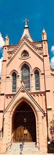 Cathedral in Marigny in New Orleans, USA