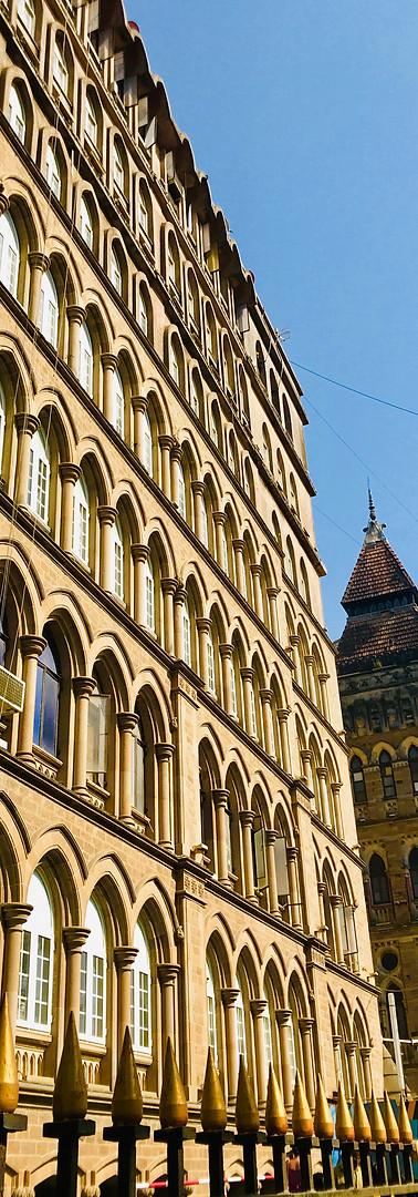 Victoria Terminus in Mumbai, India