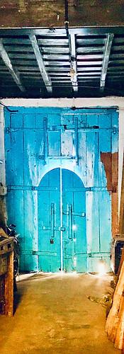 Unexpected doorway in Kochi, India