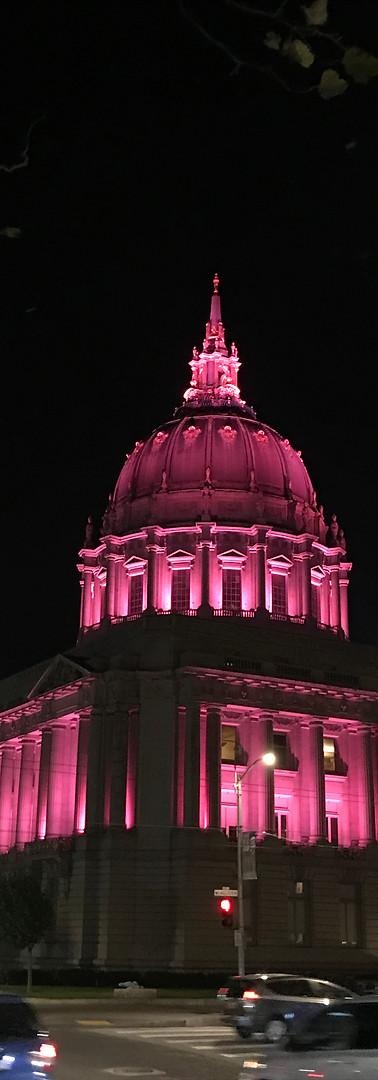 Civic Center at night - San Francisco, USA