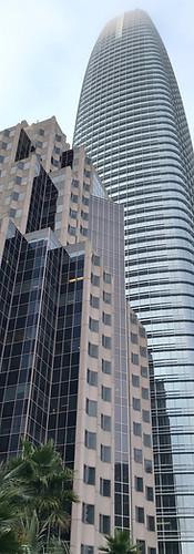 Salesforce tower in San Francisco, USA