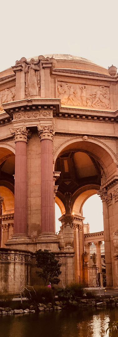 Palace of Fine Arts in San Francisco, USA