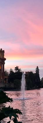 Palace of Fine Arts at Sunset - San Francisco, USA